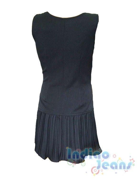 Модный сарафан для школы арт s12309