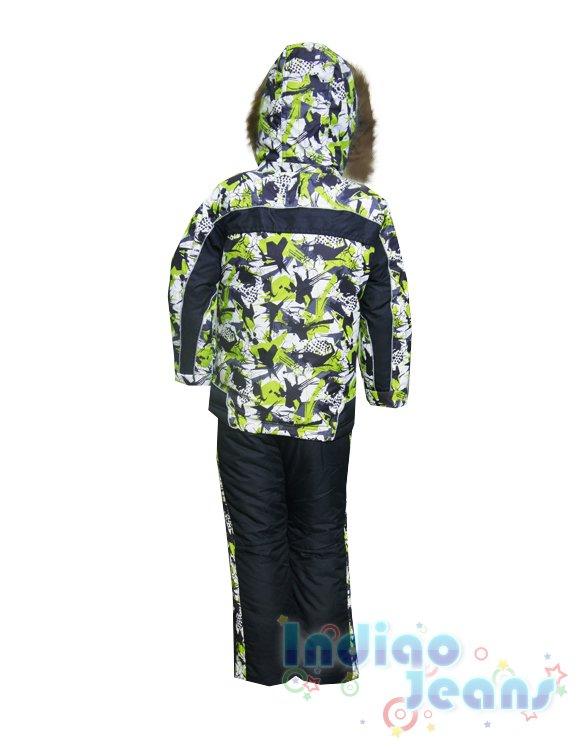 Стильные зимние костюмы для мальчиков