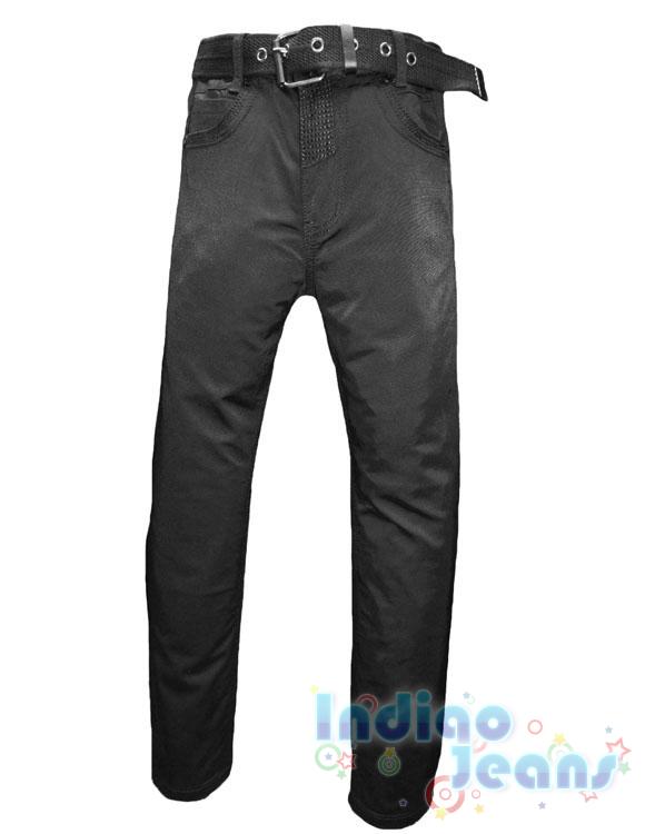 Практичные брюки из плащевки, ремень в комплекте, арт.  AN170