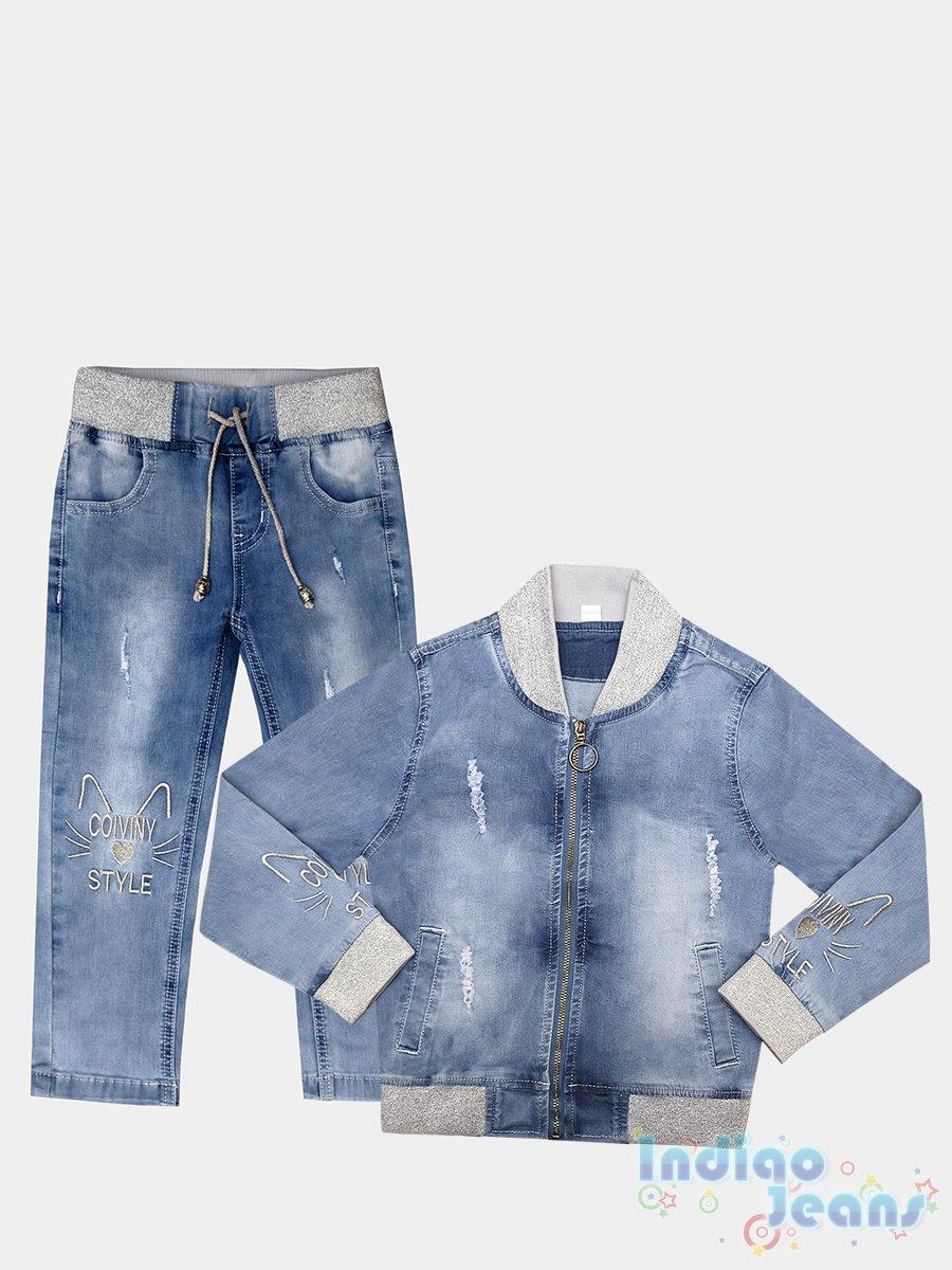 e4ef23603085e7 Костюмы джинсовые, спортивные. - Одежда для девочек от 0 до 6 лет ...